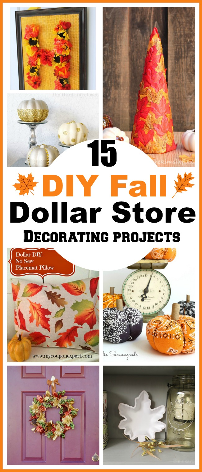 Best 15 Diy Fall Dollar Store Home Decor Projects This Month