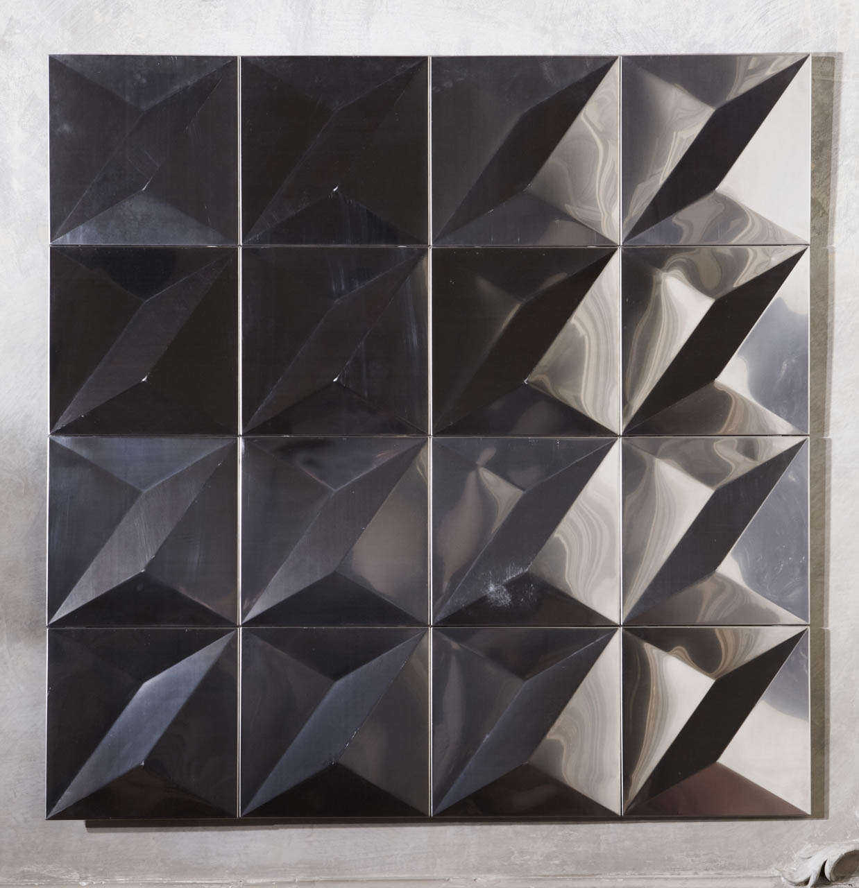 Best 1970 S French Stainless Steel Decorative Panels At 1Stdibs This Month