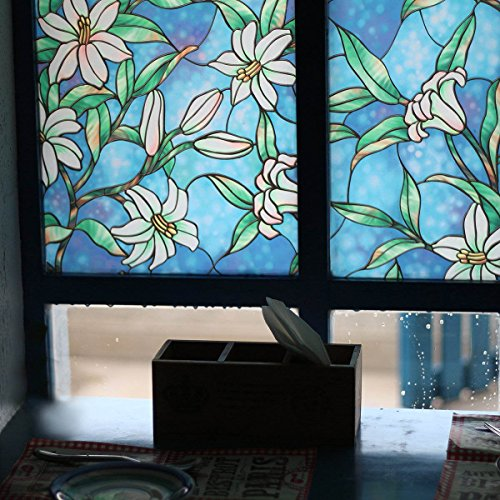 Best Bofeifs Decorative Privacy Window Film Frosted Window Film This Month