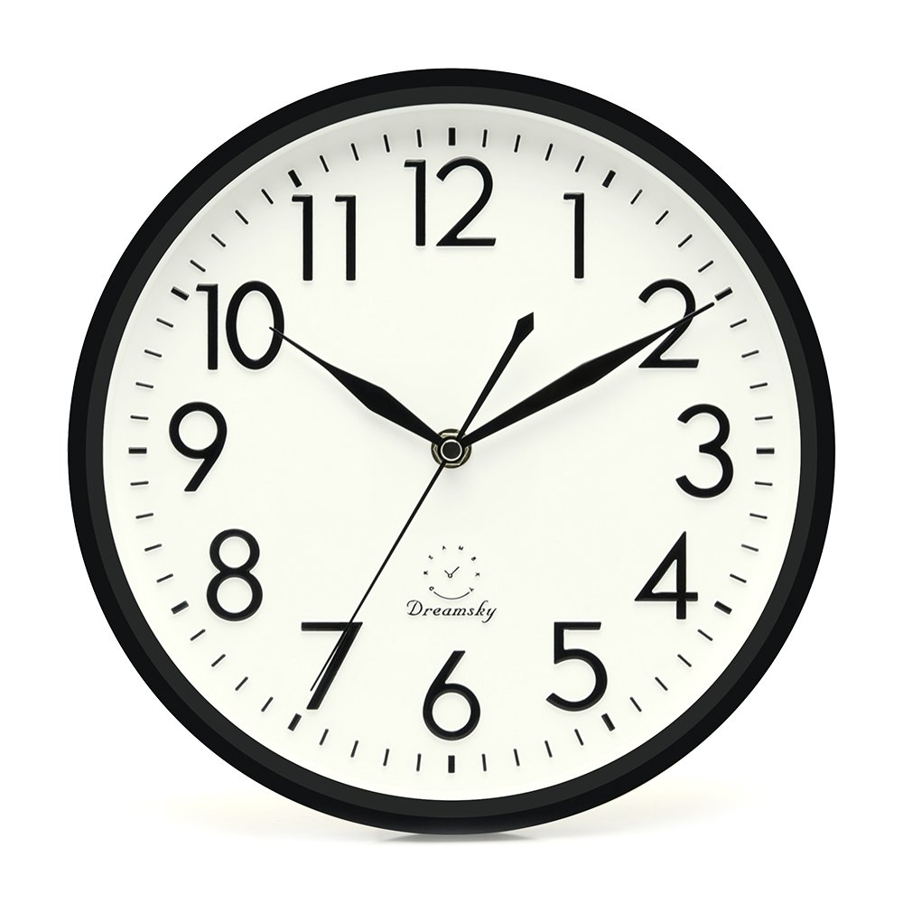 Best Dreamsky 10 Inches Silent Non Ticking Quartz Wall Clock This Month