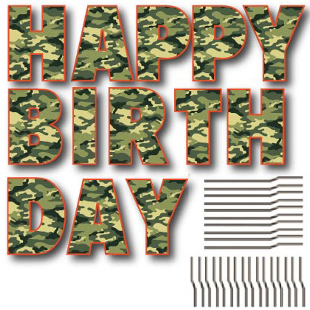 Best Amazon Com Victorystore Lawn Decorations Happy Birthday This Month