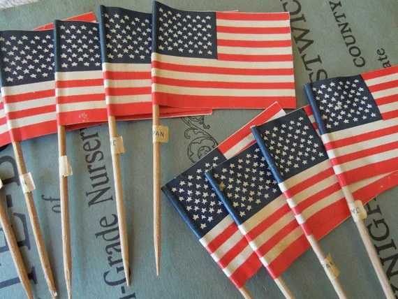 Best 9 Vintage American Flag Cake Decorations Fourth Of July This Month
