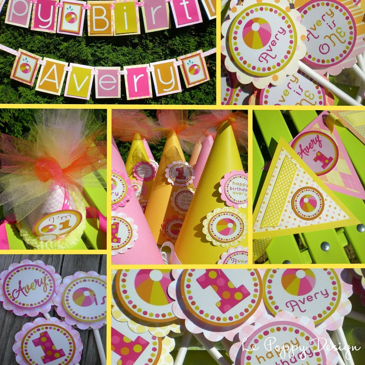 Best Beach Ball Birthday Party Decorations Fully By Partygloss This Month
