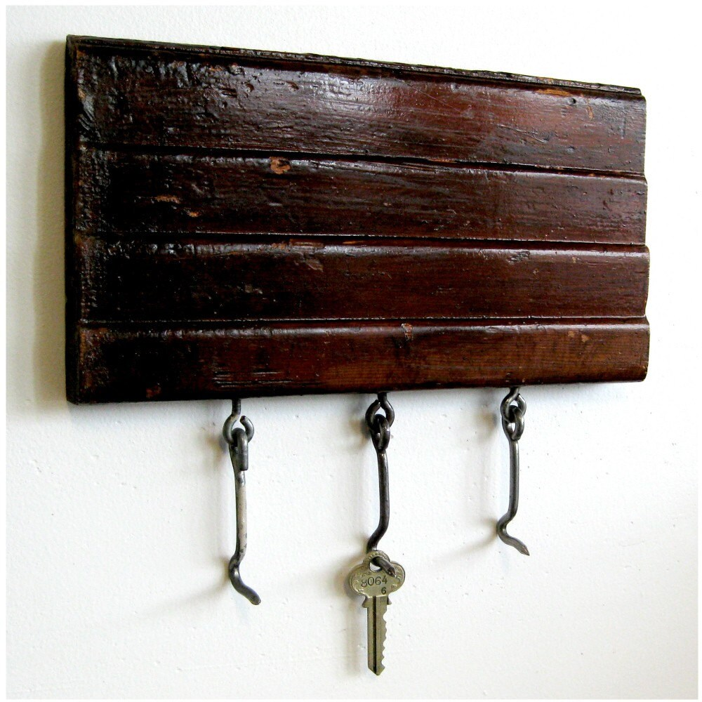 Best Key Rack Repurposed Recycled Decorative Wood Molding 10 X This Month