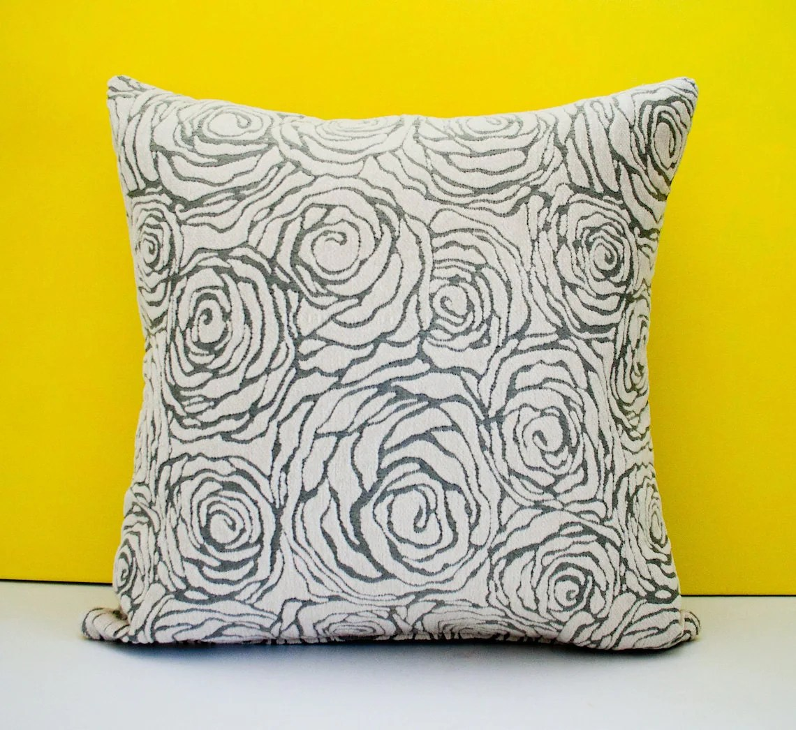 Best Grey Off White Decorative Throw Pillow Cover Accent Pillow This Month