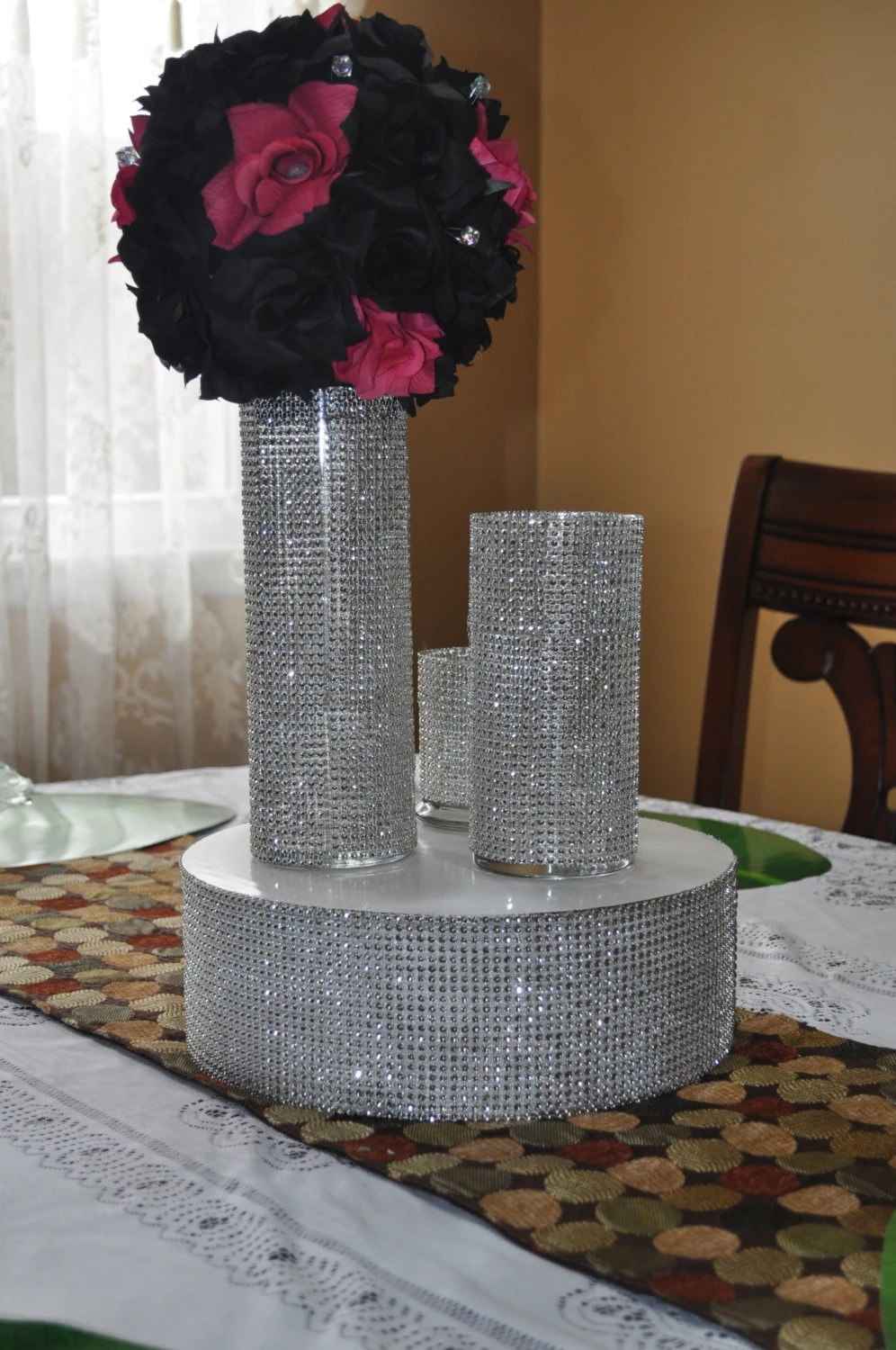 Best Rhinestone Bling Vase For Wedding Party Centerpiece Table This Month
