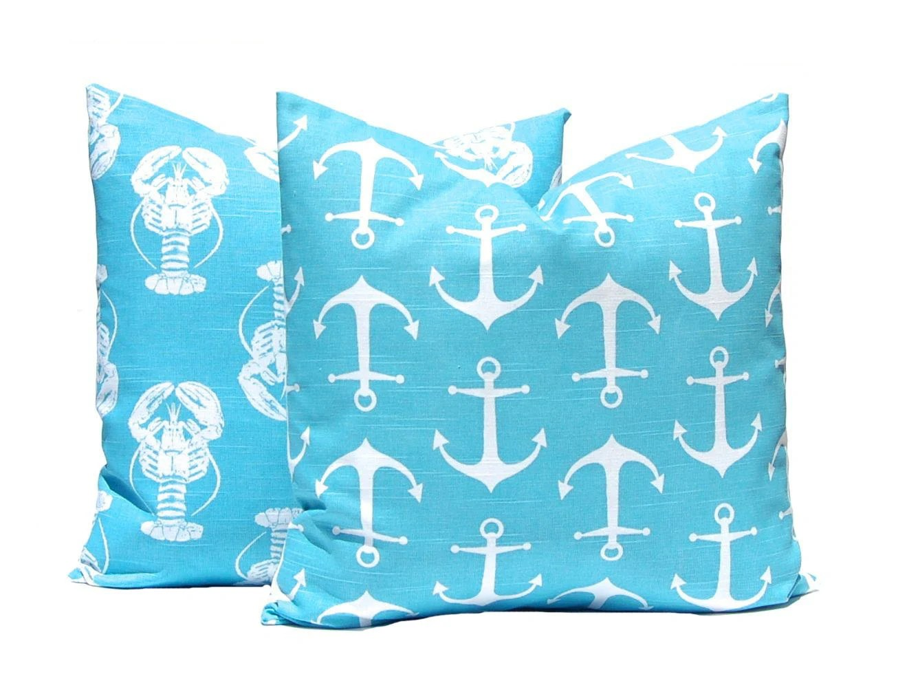 Best Turquoise Pillow Covers Decorative Pillow By Companytwentysix This Month