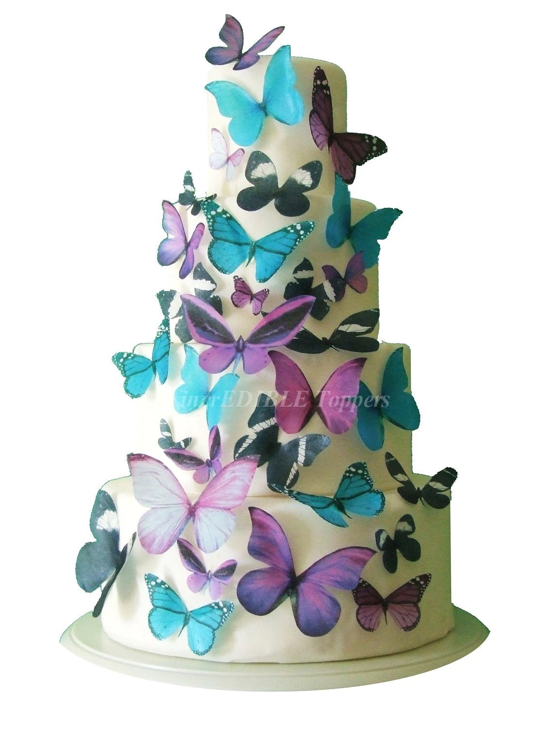 Best Edible Butterflies For Cakes And Cupcakes Cake Decorations This Month