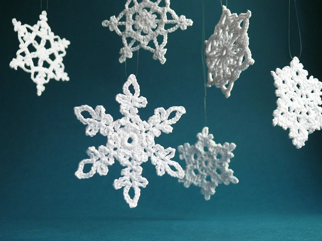 Best Items Similar To 6 Large Crochet Snowflake Ornaments This Month