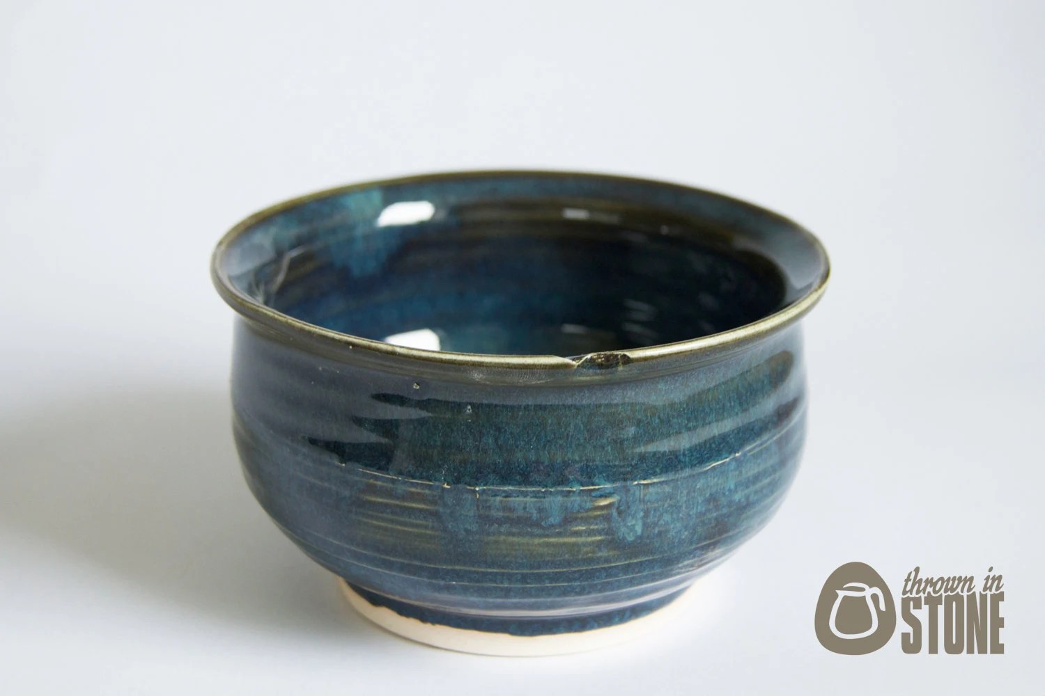 Best Decorative Bowl Midnight Blue Dark Blue Rustic By This Month