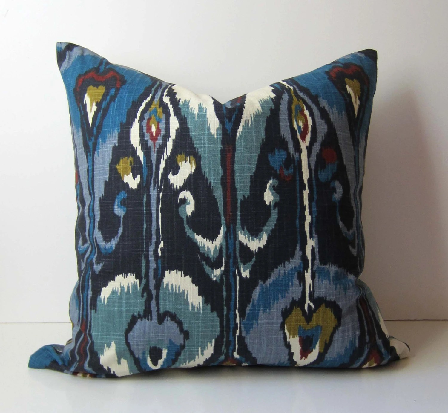 Best Ikat Pillow Decorative Pillow Cover 20 Inch By Studiotullia This Month