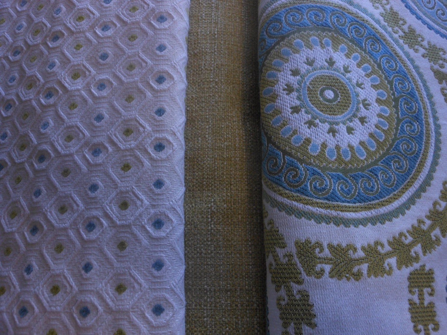 Best Fabric By The Yard 3 Coordinated 1 Yard Cuts Home Decor This Month