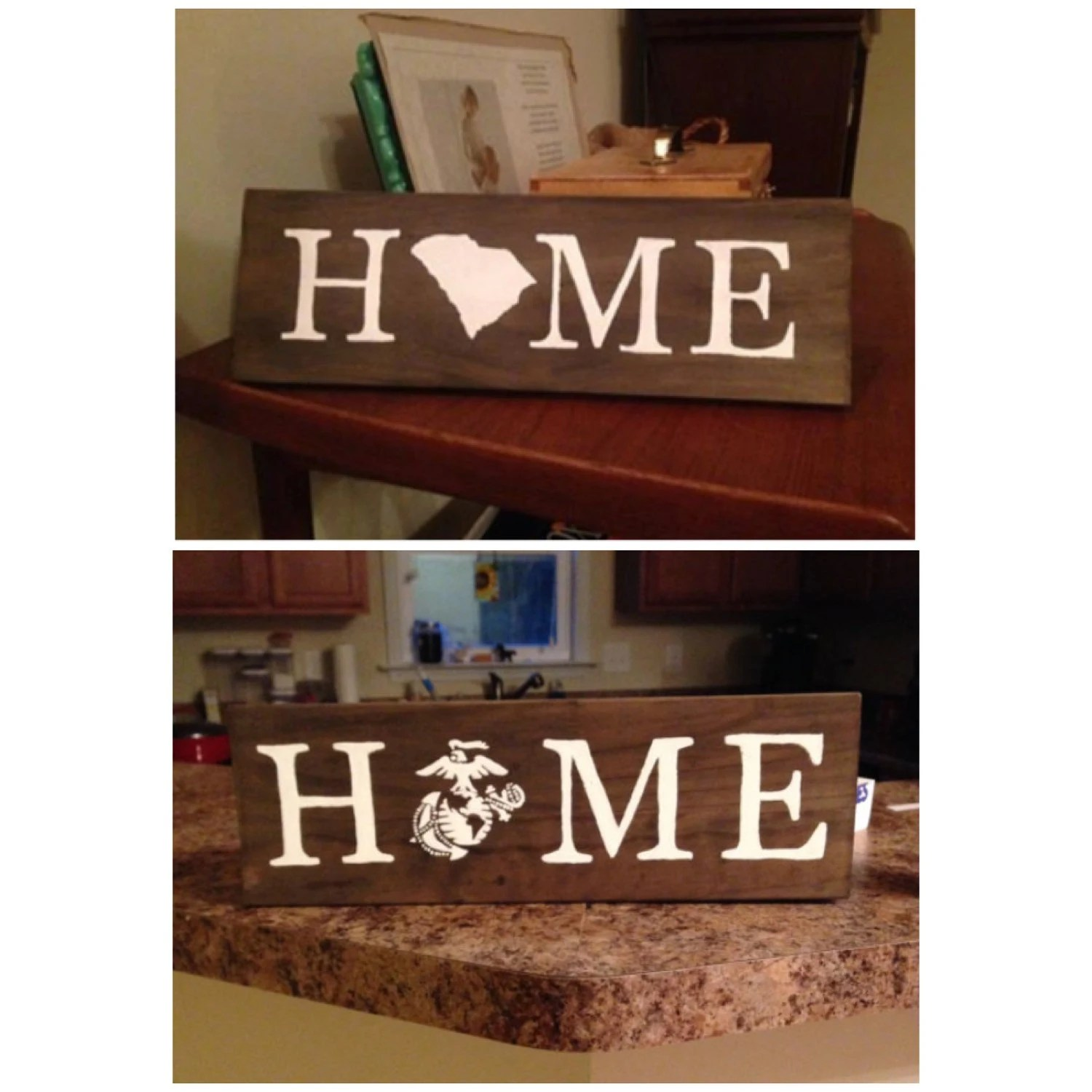 Best State Military Home Decor Sign By Ktscharmingcreations On Etsy This Month