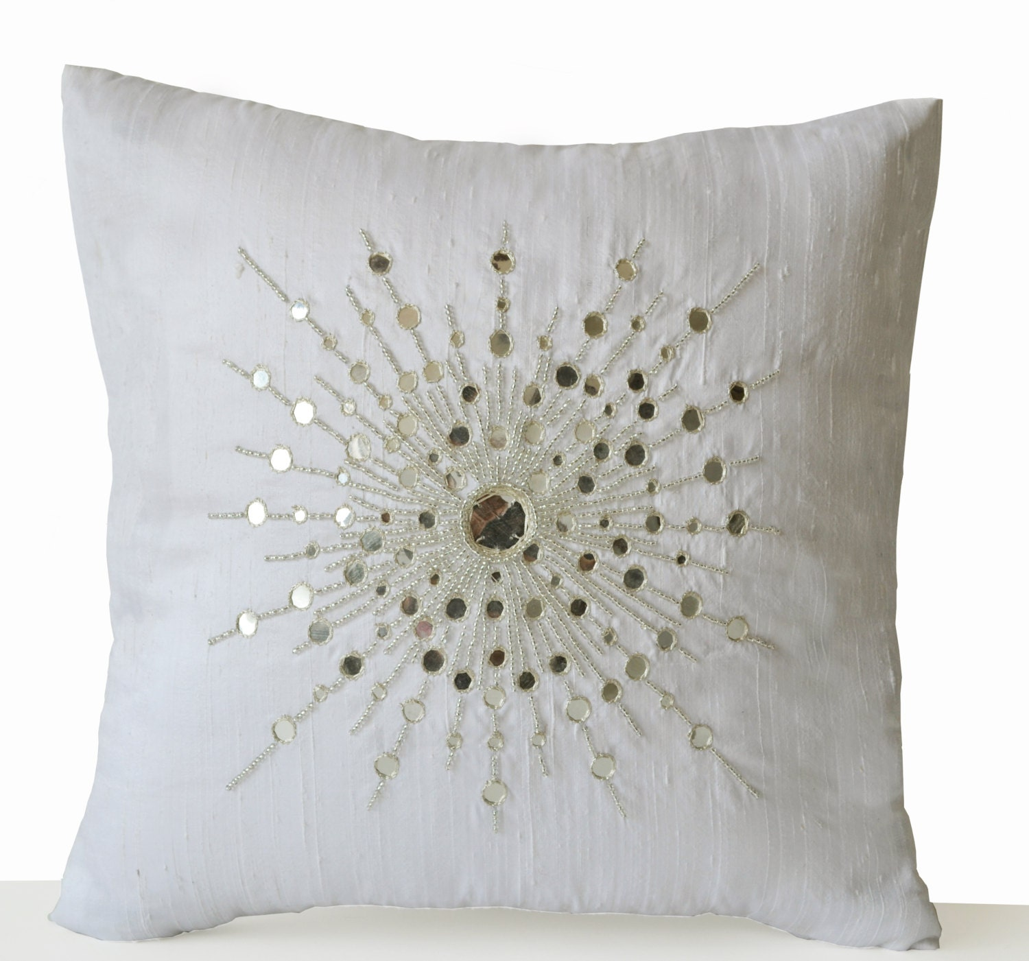 Best Decorative Throw Pillow Cover Premium Beaded Pillow Pure This Month