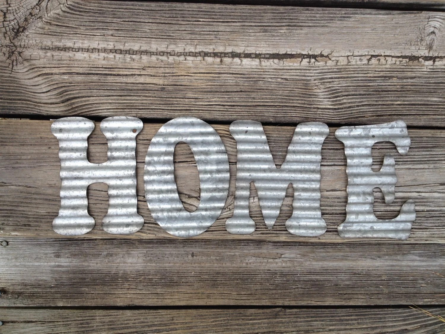 Best Galvanized Metal Letters Home Industrial Wall Decor Kitchen This Month