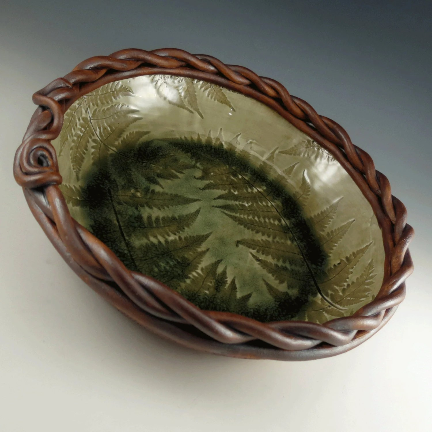 Best Large Pottery Serving Bowl Decorative Ceramic By This Month