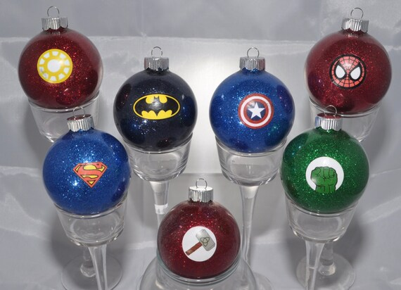 Best Super Hero Ornaments Super Hero Glitter By Crazycraftersfun This Month