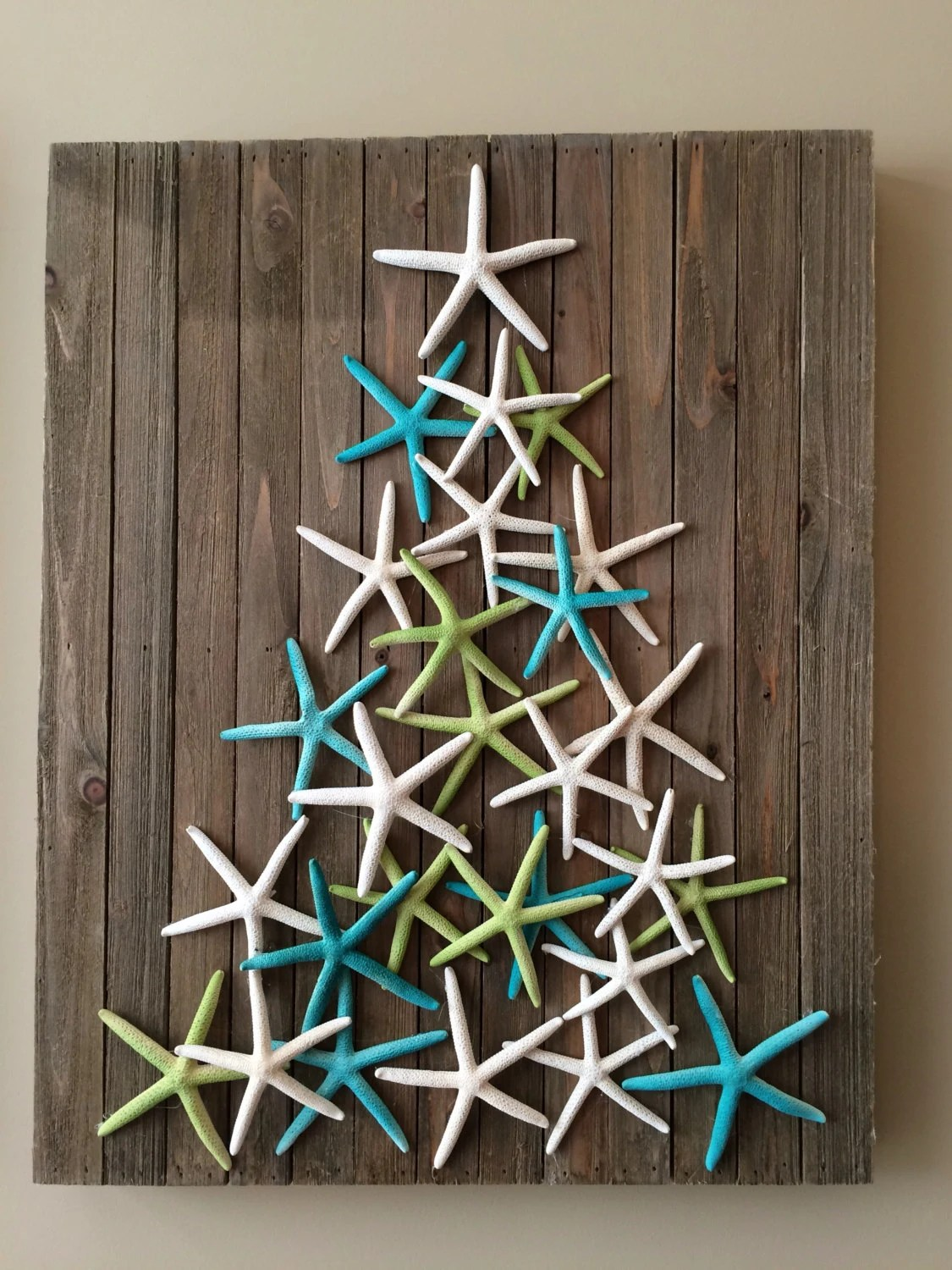 Best Coastal Christmas Decor Starfish Art Beach By Planbinteriors This Month