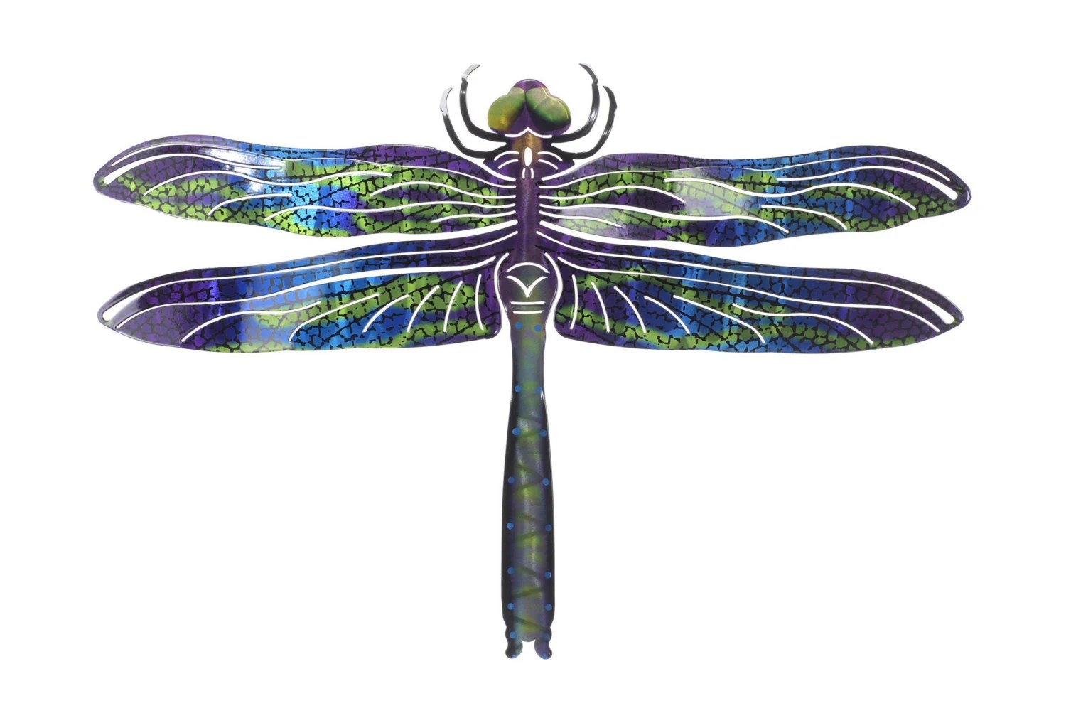 Best Metal Wall Art Dragonfly Wall Decor Blue This Month