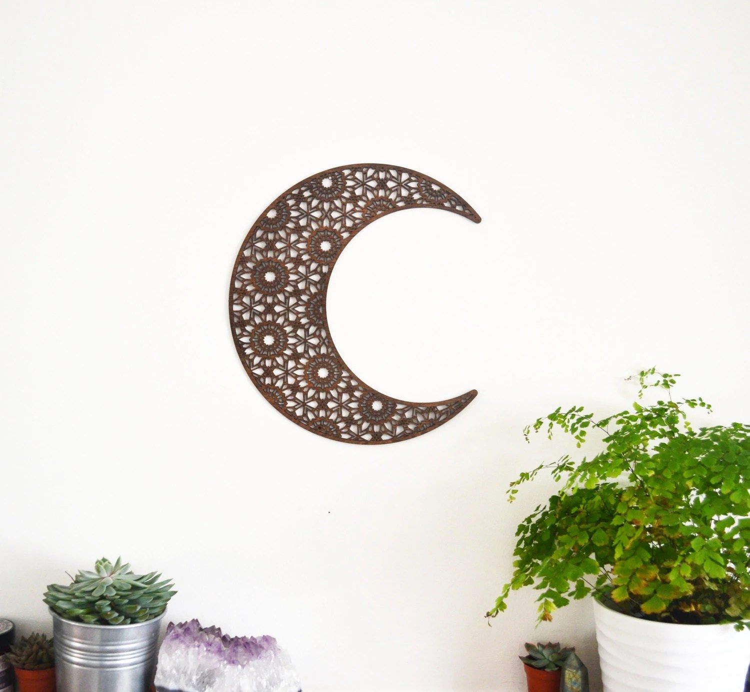 Best Crescent Moon Wall Art Wall Decor Mandala This Month