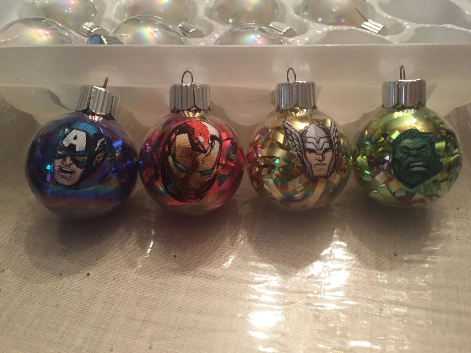 Best Handmade Mini Avengers Christmas Ornaments This Month