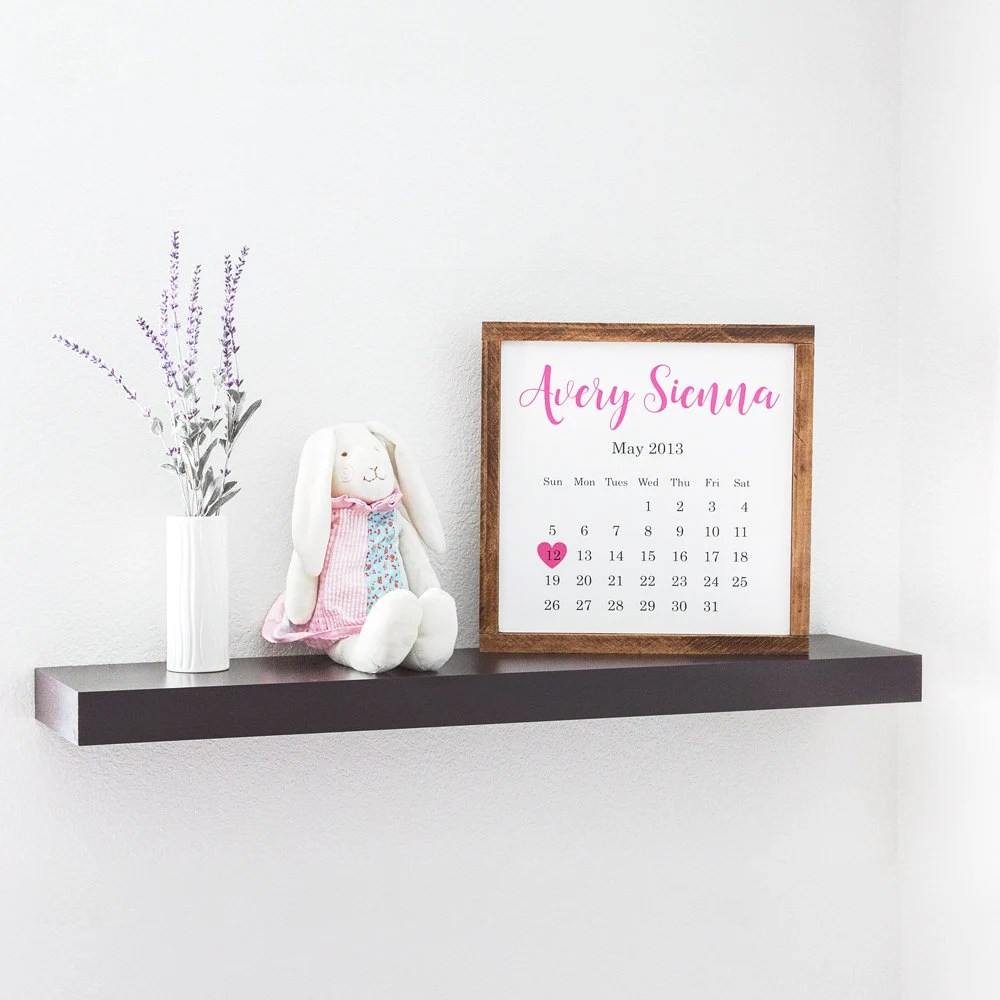 Best Personalized Baby Wall Decor Rustic Nursery Decor Nursery This Month