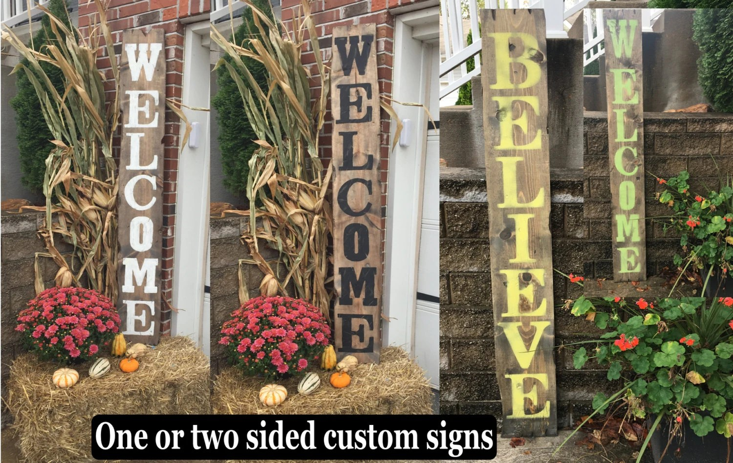 Best Yard Signs Decorative Signs Wood Name Signs By Rustiquesigns This Month