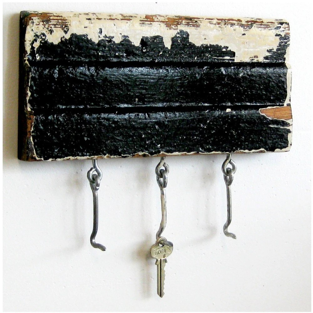 Best Key Rack Repurposed Decorative Wood Molding Black And This Month