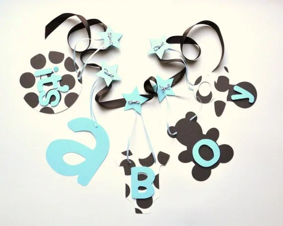 Best Baby Blue And Brown Baby Shower Decorations It S A Boy This Month