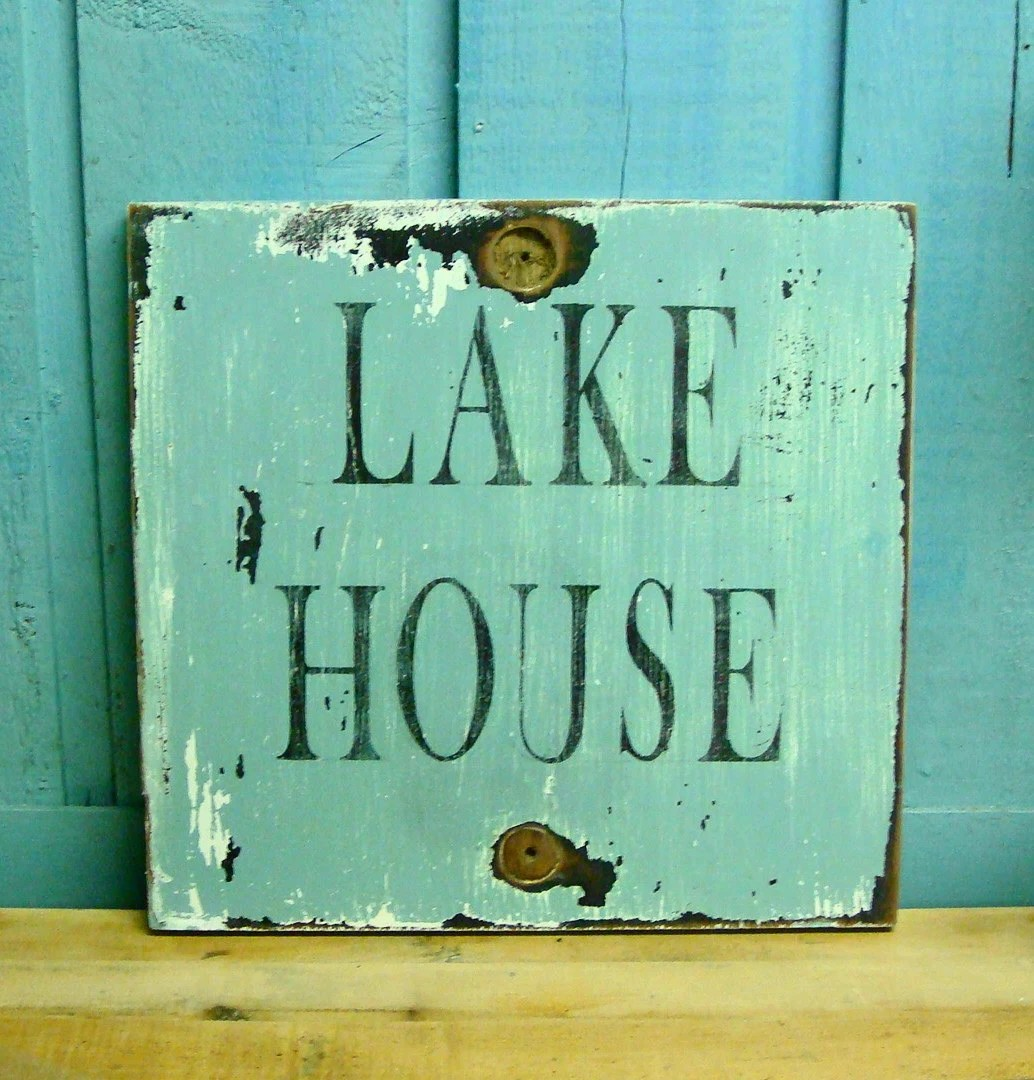 Best Lake House Sign Beach House Wall Art Decor This Month
