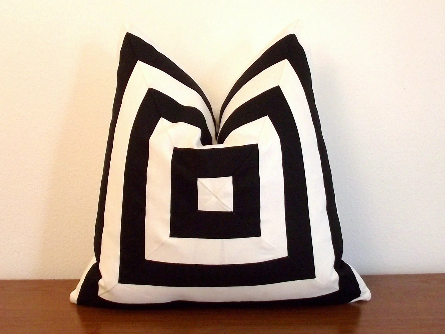 Best Decorative Pillow Cover Black And White Stripes Geometric This Month