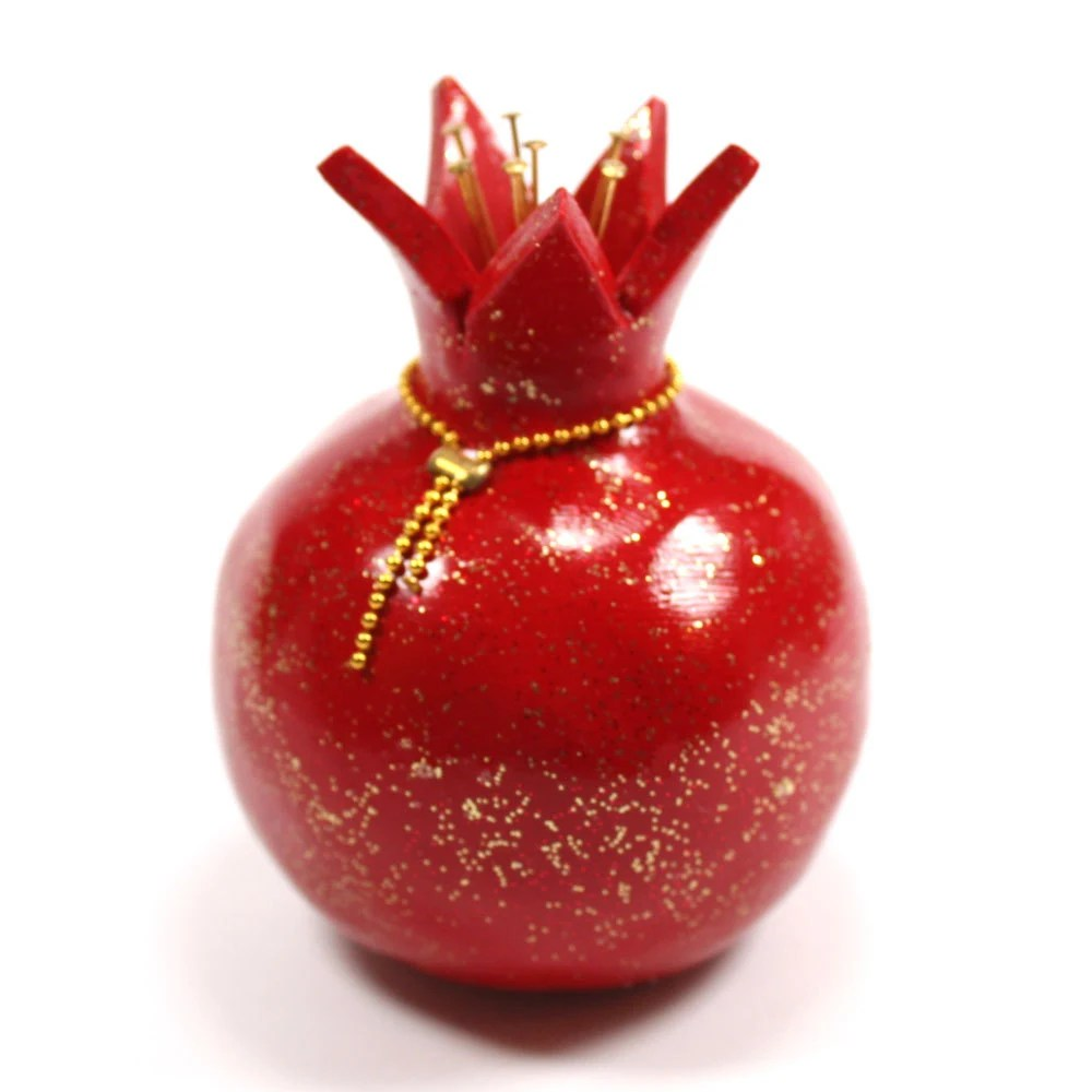 Best Red Pomegranate Home Decor Prosperity Symbol Polymer Clay This Month