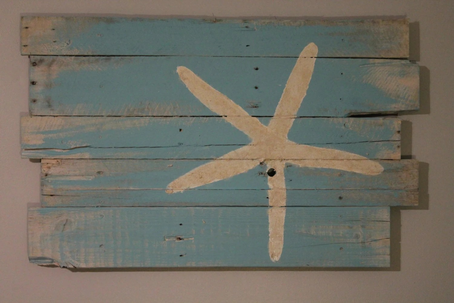 Best Beach And Starfish Wall Hanging Reclaimed Wood Rt Justified This Month