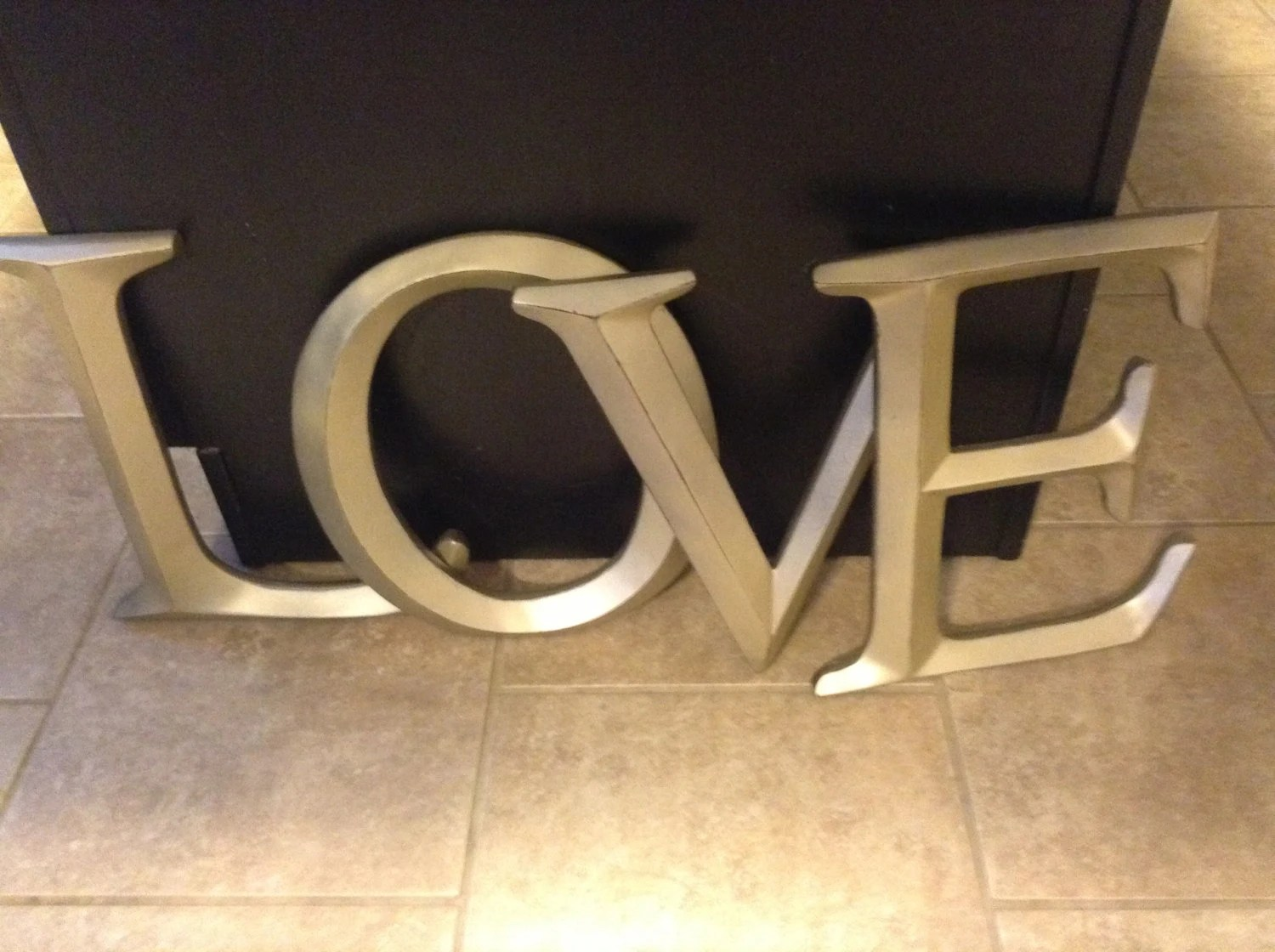 Best Letters Large Letters Wall Decor Shabby Chic Wall Decor This Month