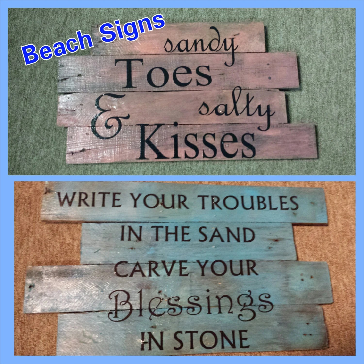 Best Items Similar To Beach Signs Beach House Beach Sign This Month