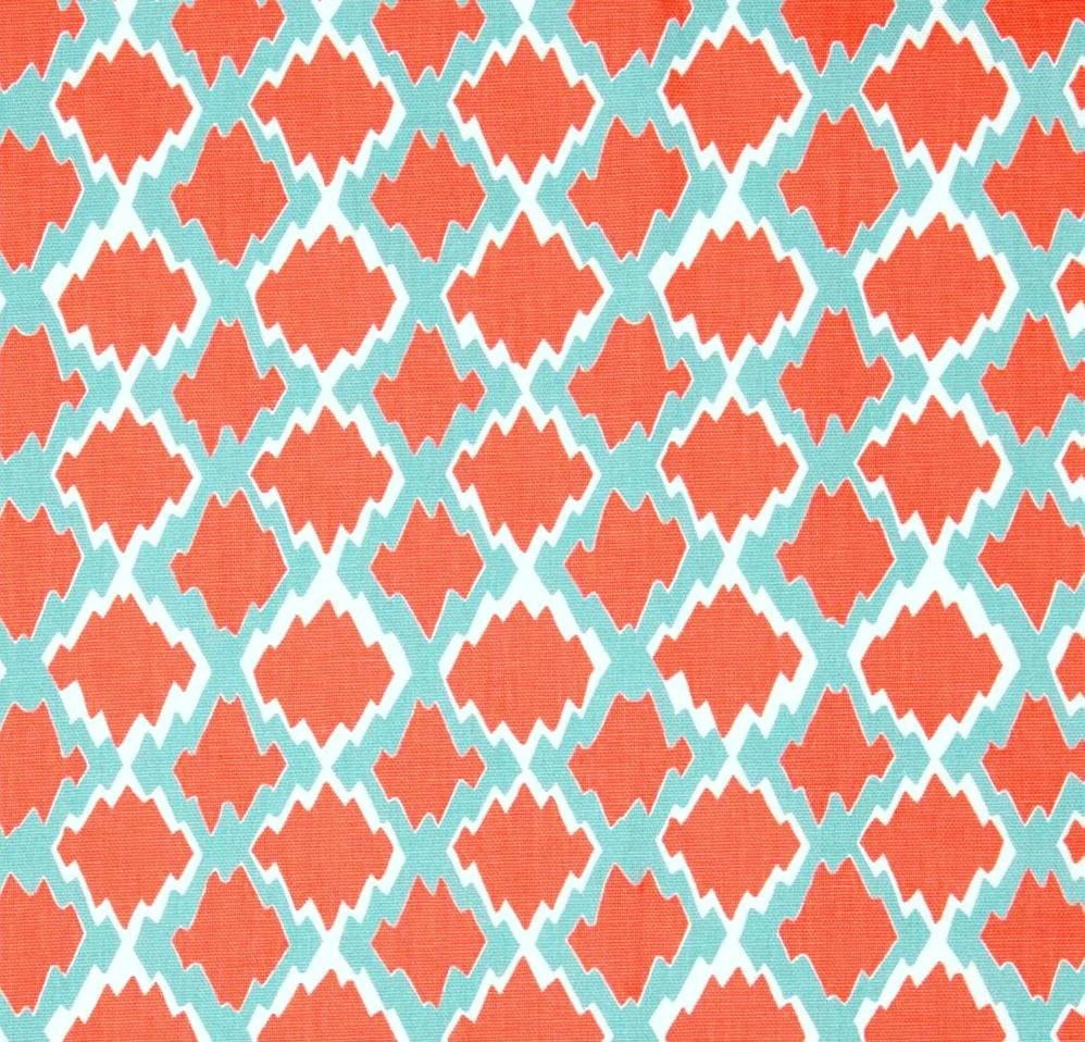 Best Boho Coral Home Decor Fabric By The Yard Designer By This Month