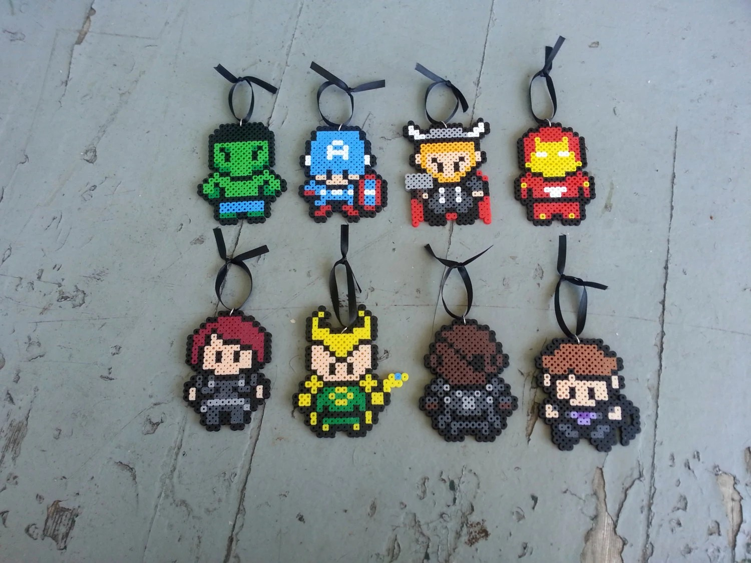 Best Cute Avengers Christmas Ornaments By Burritoprincess On Etsy This Month