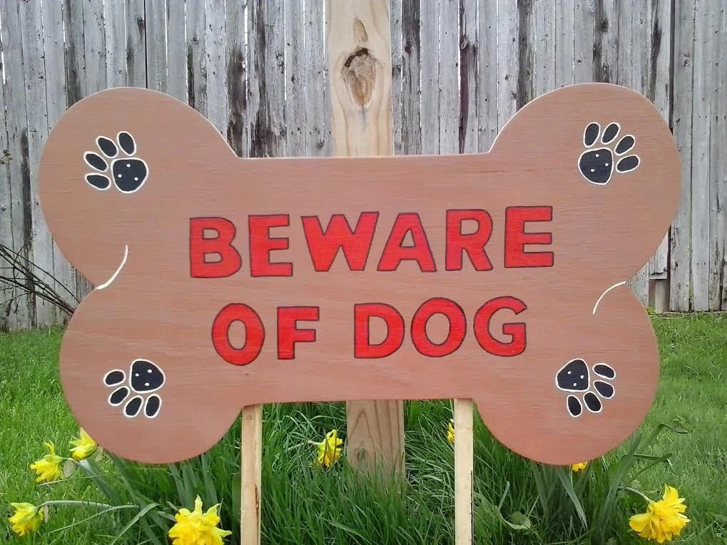 Best Beware Of Dog Sign Lawn Sign Yard Decor Outdoor Wood Yard This Month