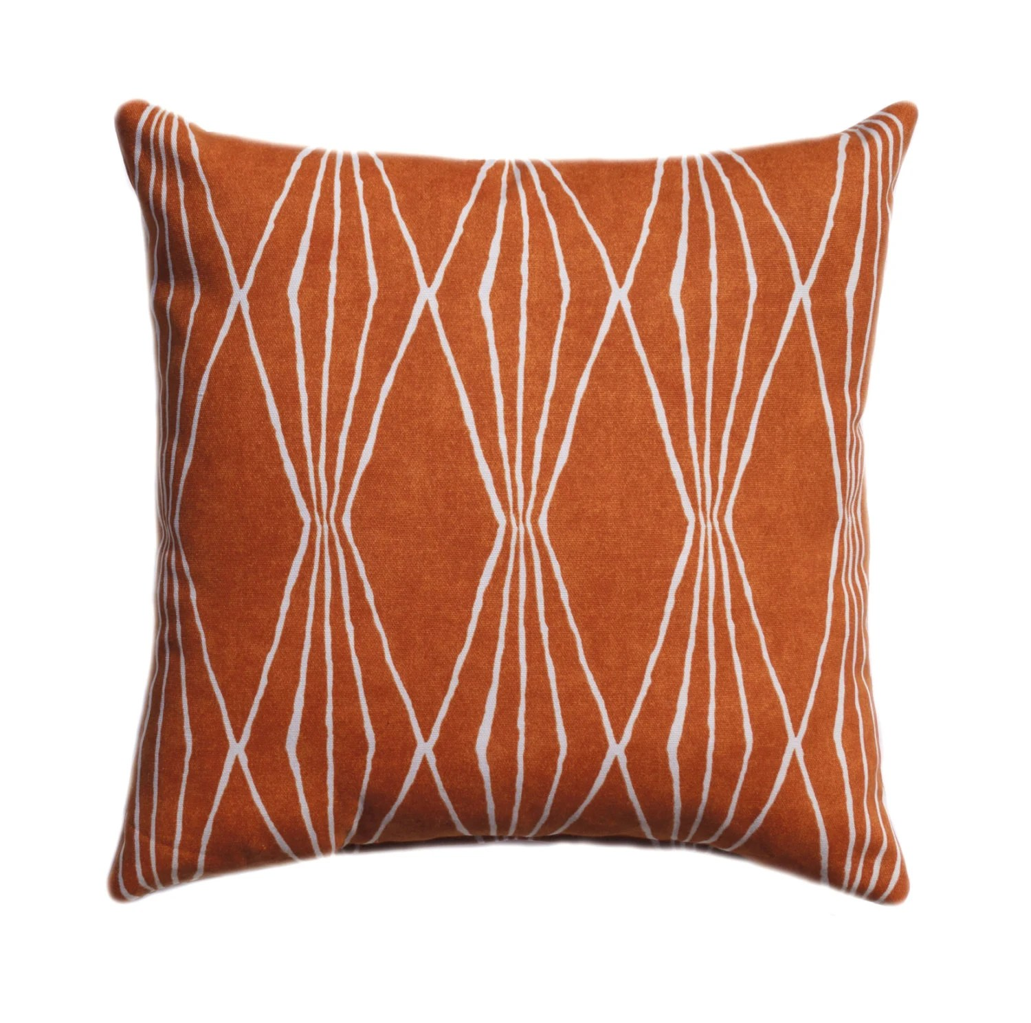 Best Orange Pillow Burnt Orange Pillow Cover By Thepillowcoverstore This Month