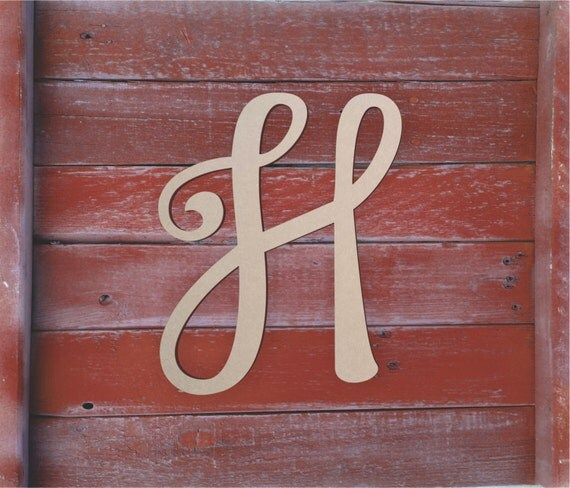 Best Large Wooden Letters Unfinished Unpainted Decorative Font This Month