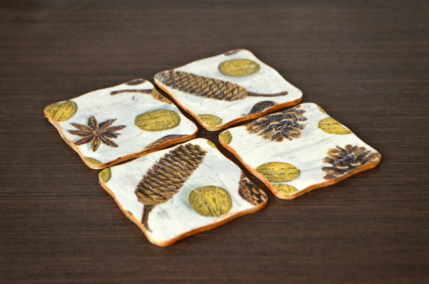 Best Items Similar To Rustic Wood Coasters Wooden Coasters This Month