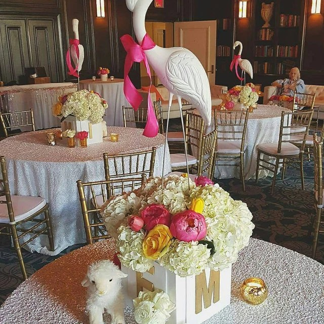 Best Baby Shower Centerpieces Baby Block Centerpieces Abc This Month