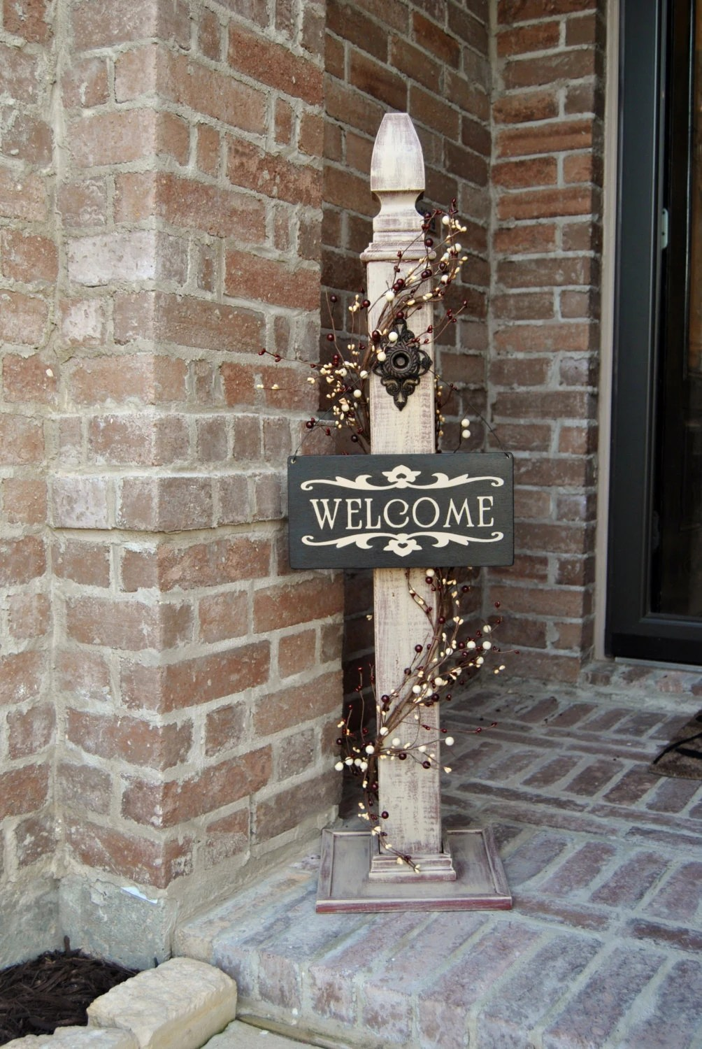 Best Rustic Sign Post Rustic Porch Post Wood Rustic Sign Post This Month