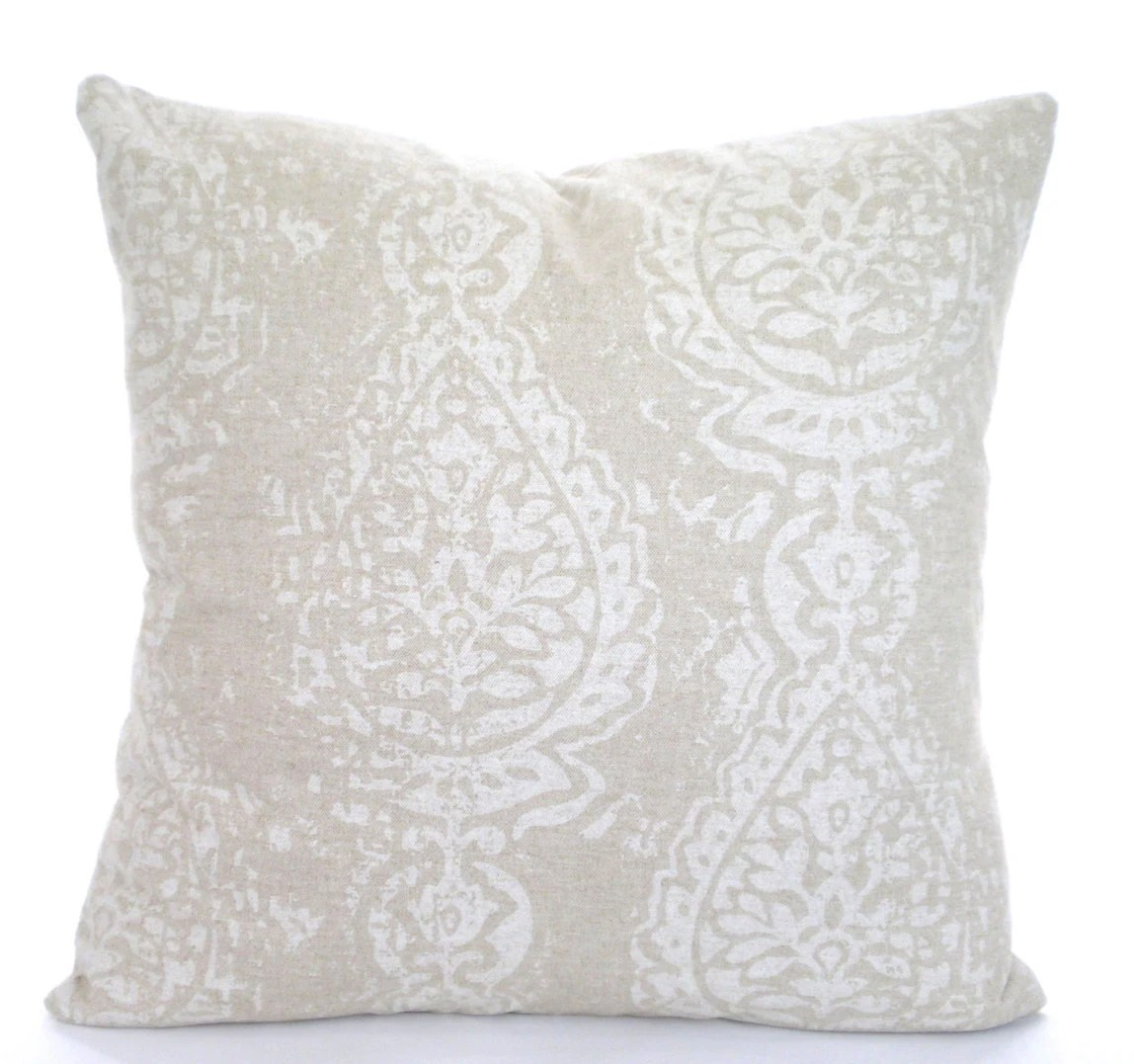 Best Tan Off White Decorative Throw Pillow Covers Cushions Tan Off This Month