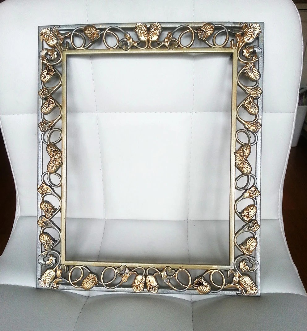 Best Vintage Metal Frame Elegant Wall Hanging Wall Decor This Month