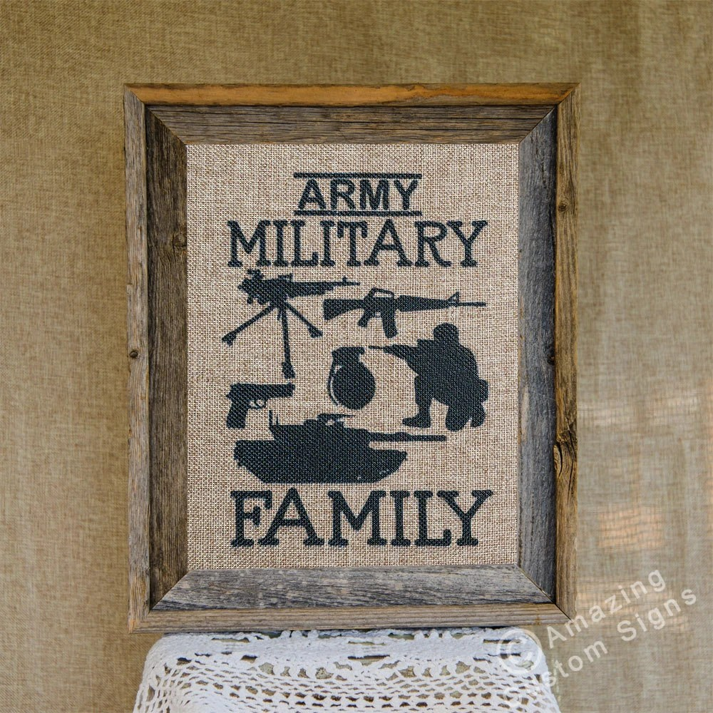 Best Military Home Decor Sign Army Military By Amazingcustomsigns This Month