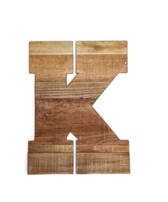 Best Large Decorative Wooden Letters Rustic Home Decor 16 This Month