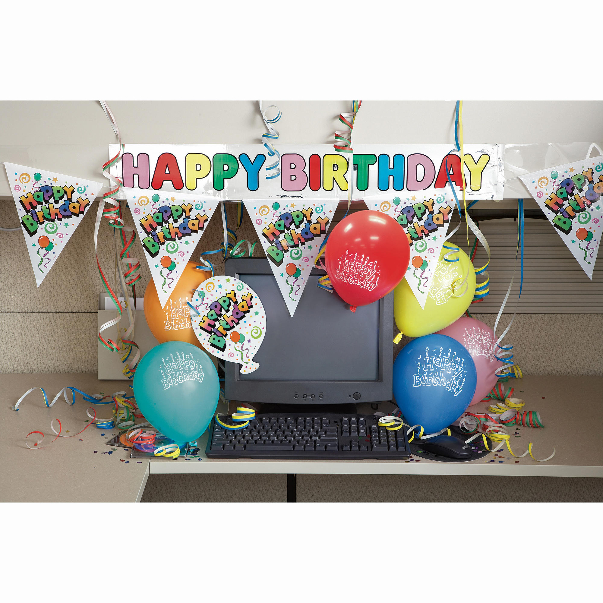Best Happy Birthday Office Cubicle Decoration Kit This Month