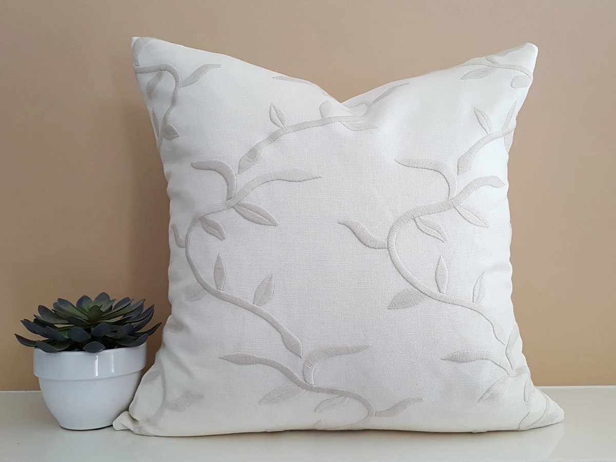 Best Decorative Pillows Cream Pillows White Pillow Designer Etsy This Month
