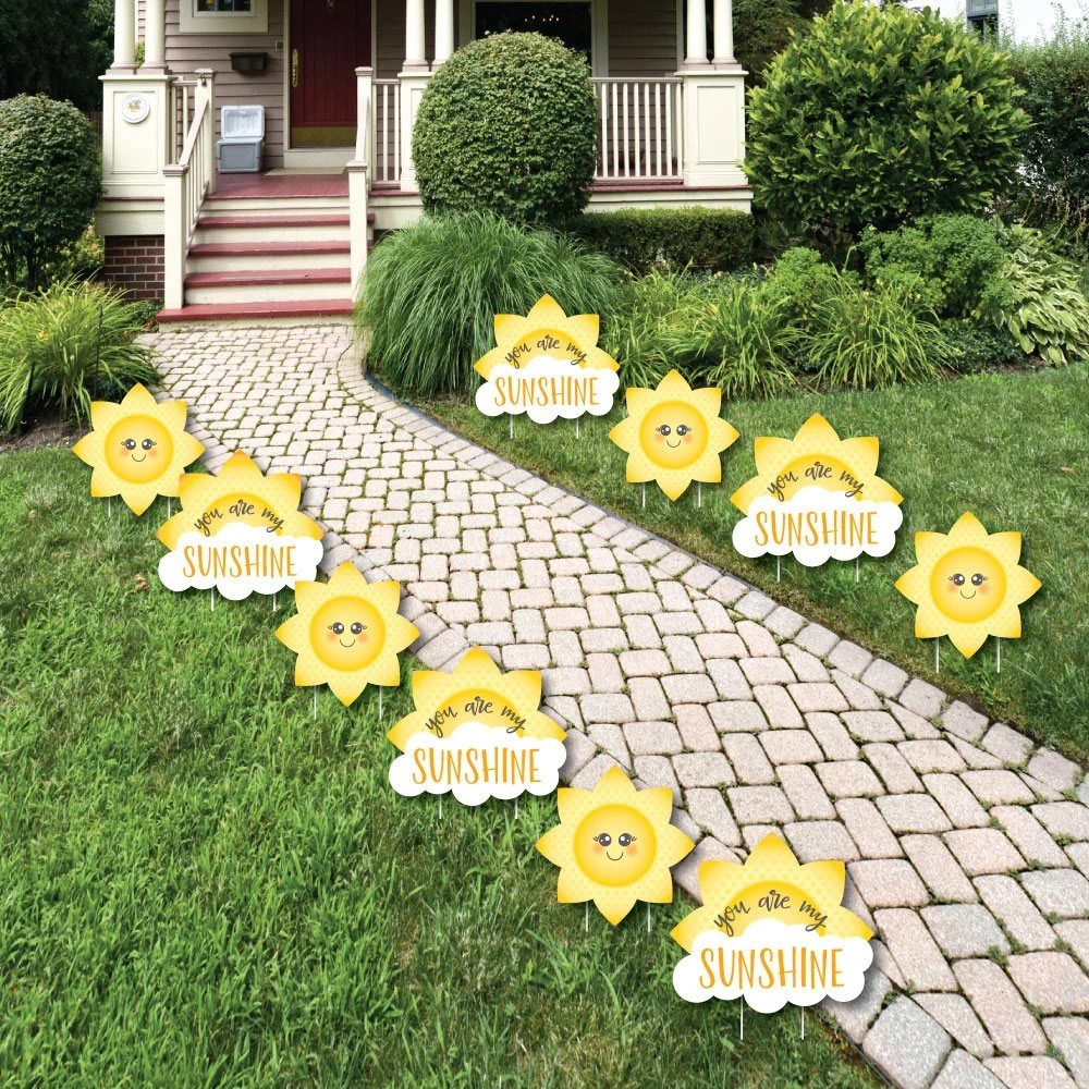 Best You Are My Sunshine Lawn Decorations Outdoor Baby This Month